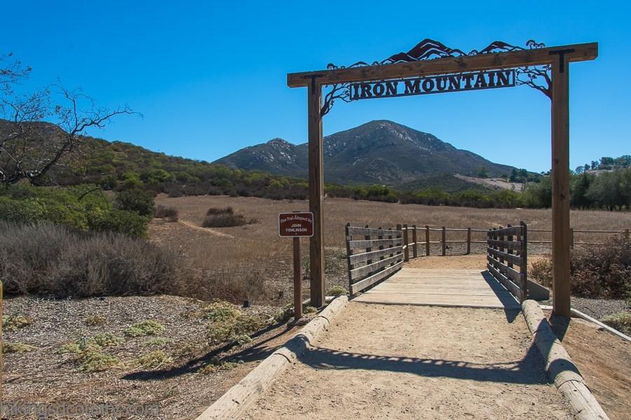 Iron Mountain trailhead