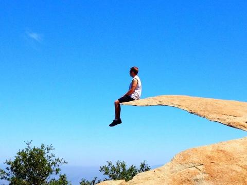 Mount Woodson hiking
